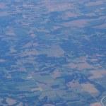 Постер, плакат: Aerial photograph of rural Eastern USA