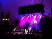 Rebel Souljahz sings on stage at MayJah RayJah Concert — Stock Photo