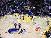 Pistons 31 Charlie Villanueva shots free throw shoot — Photo