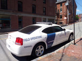 US Customs and Border Protection Field Operation Car parked on t — Stock Photo