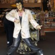 Replica of Elvis Presley singing in a souvenir store on Hollywoo — Stock Photo #61349641