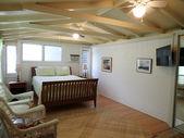 Inside Cottage Bedroom — Стоковое фото