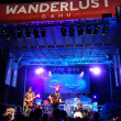 Roothub performs on stage during a evening concert at Wanderlust — Stock Photo #76291951