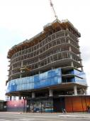 Waiea - 1118 ala moana under construction — Stock Photo