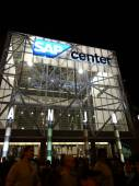 Crowd of People leave the SAP Center — Stock Photo