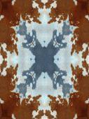 Kaleidoscope Cow Hide Pattern — Stock Photo