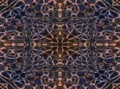 Kaleidoscope animal fur pattern — Zdjęcie stockowe