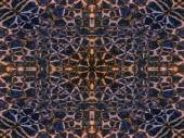 Kaleidoscope animal fur pattern — Stock Photo