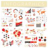 Set of infographics design elements — Stock Vector