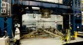 Space station docking machinery — Stock Photo