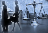 Law and Justice — Stock Photo