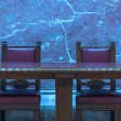Segment of a conference room — Stock Photo #65313359