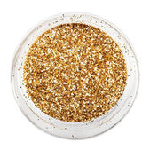 Golden glitter sparkle — Stockfoto