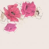 Blumen hintergrund — Stockvektor
