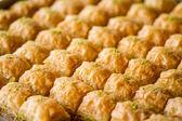 Turkish sweet baklava — Stock Photo