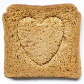 Love bread — Stock Photo
