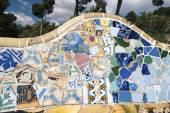 Mosaic wall — Stock Photo