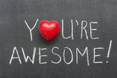 You are awesome — Stock Photo
