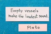Empty vessels — Stock Photo