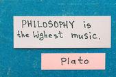 Философия — Стоковое фото