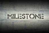 Milestone — Stock Photo