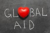 Global aid — Stock Photo