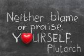 Neither blame — Stock Photo