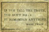Truth MT — Stock Photo