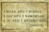 Understand Confucius — Stock Photo