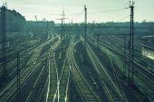 Berlin railways — Zdjęcie stockowe