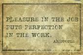Pleasure in job print — Stock Photo