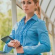 Young businesswoman — Stock Photo #56085337