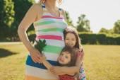 Zwangere vrouw — Stockfoto