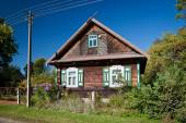 Old wooden cottage — Stock Photo