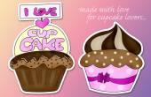 I love cupcake — Stock Photo