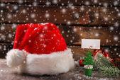 Santa claus was here — Stockfoto