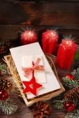 Christmas eve wafers — Stock Photo