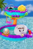 Hamster on summer holidays — Stock Photo