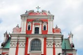 Fara Poznanska baroque church in Poznan — Stock Photo