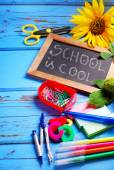 School is cool  border — Stock Photo
