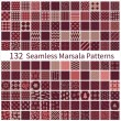 Set of seamless patterns — Stock Vector #63428005