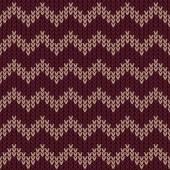 Marsala chevron pattern — Stock Vector