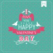 Valentines Day card — Stock Vector #63932641
