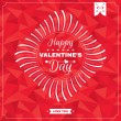 Valentines Day card — Stock Vector #63932675