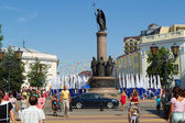 Brest on  the Day of the city. — Stock Photo