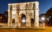 Arco di Costantino in night. — Stock Photo