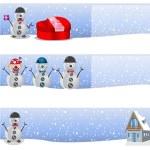 Winter background 2 — Stock Vector #59578909