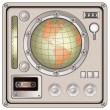 Vintage control panel icon — Stock Vector #60541419