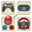 Gamepad icons — Stock Vector #60813165