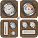 Temperature meters — Stock Vector #61529405